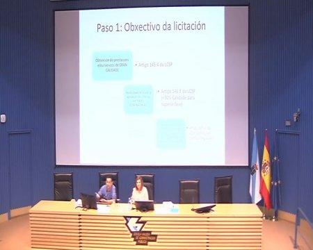 Criterios de adxudicación dos contratos  - A nova Lei de contratos do sector público na Administración local
